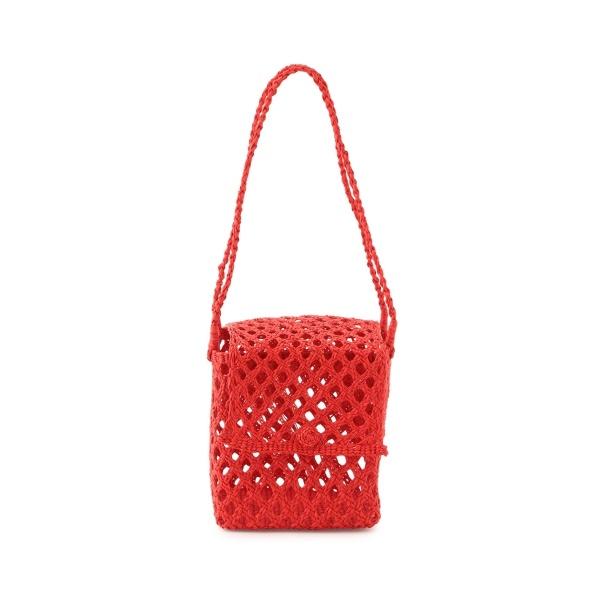 【Artesano】Cubic Straw Mini Bag (Bisou)/アダム エ ロペ(レディース)(ADAM ET ROPE')