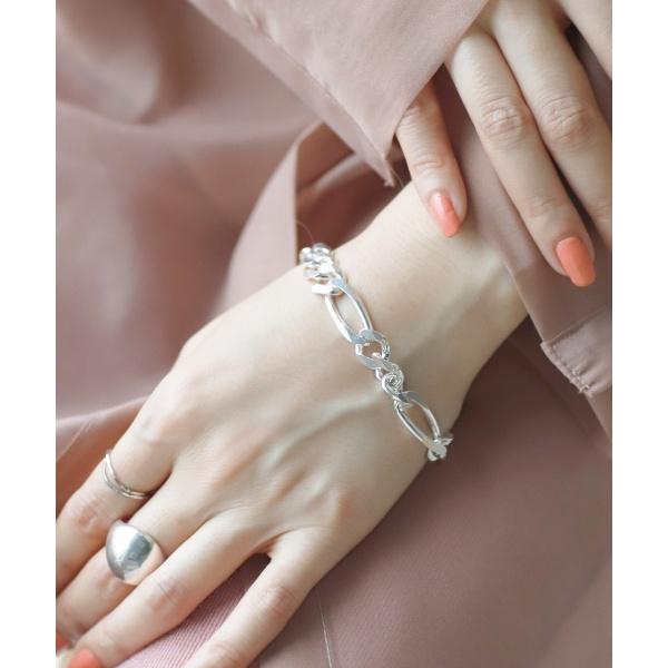 シルバーチェーンブレスレット[D][silver925]/アネモネ(AneMone)