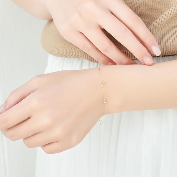 【K10】トゥウィンクルステーションブレスレット/フィービィー(phoebe)