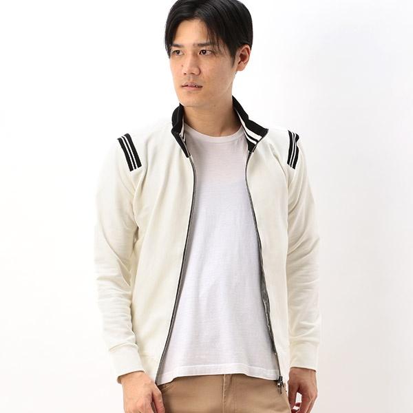 【CUSTOM CULTURE】 24GGストレッチ裏毛 トラックジャケット/トランジション(TRANSITION)