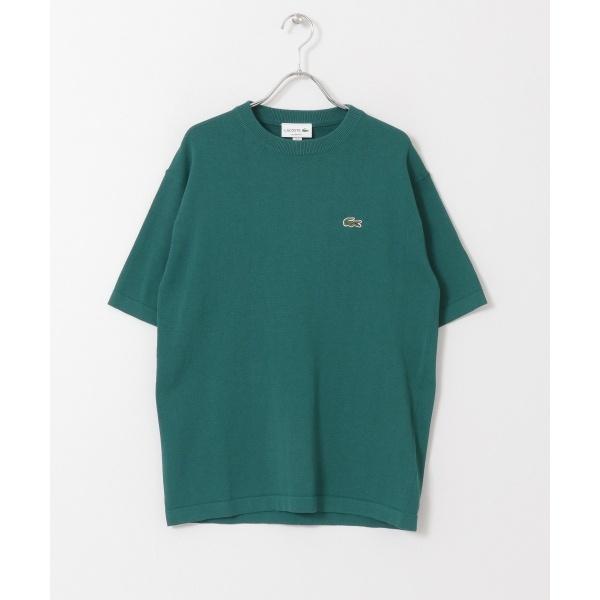 メンズTシャツ(LACOSTE 成形横編みニットTシャツ)/アーバンリサーチ ドアーズ(メンズ)(URBAN RESEARCH DOORS)