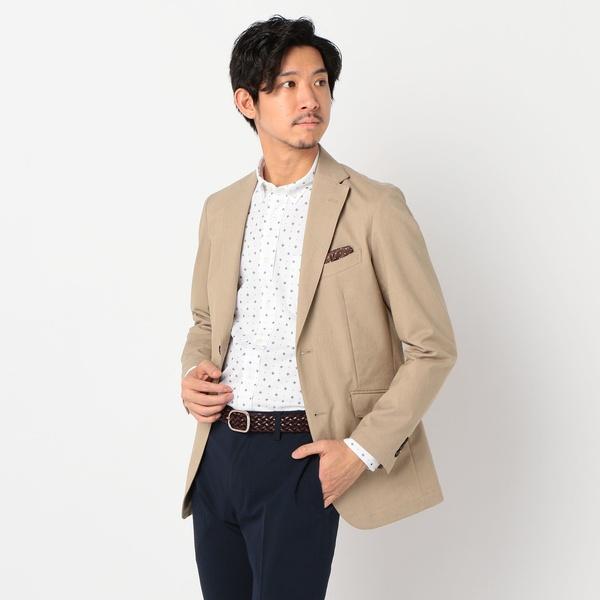 綿麻COOLMAX テーラードジャケット/ノーリーズ メンズ(NOLLEY'S)