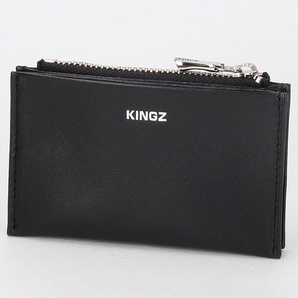 スムースレザー 小銭入付カードケース/キングズ(KINGZ)
