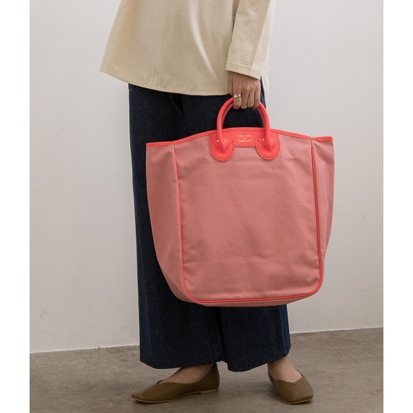 【YOUNG & OLSEN】CANVAS CARRYALL TOTE L/アダム エ ロペ ル マガザン(ADAM ET ROPE Le Magasin)