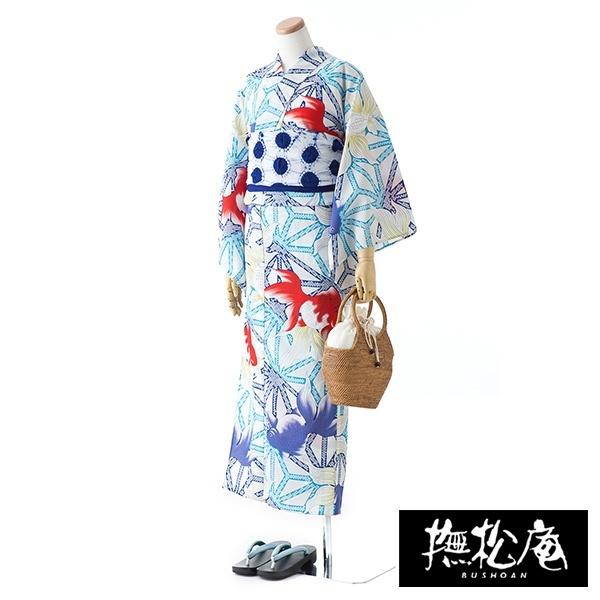 麻の葉金魚/撫松庵(BUSHOAN)