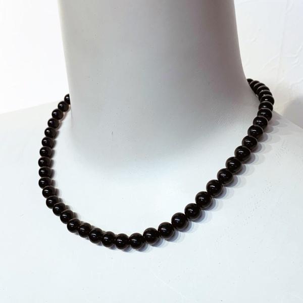 黒珊瑚ネックレス&イヤリングセット/ソリテール(SORITEAL)