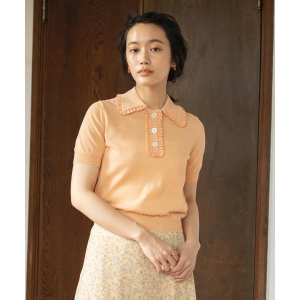 【Rythme KUMIKYOKU】Mademoiselle ポロシャツ/組曲(KUMIKYOKU)