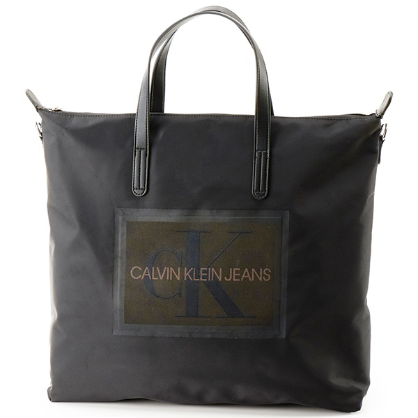 【CALVIN KLEIN JEANS】CK ロゴ トート バッグ/カルバン・クライン(CALVIN KLEIN)