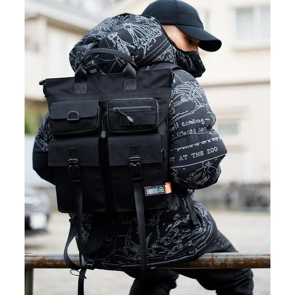DEVICECORDURAマグネットロックヘルメットバッグ/デバイス(DEVICE)
