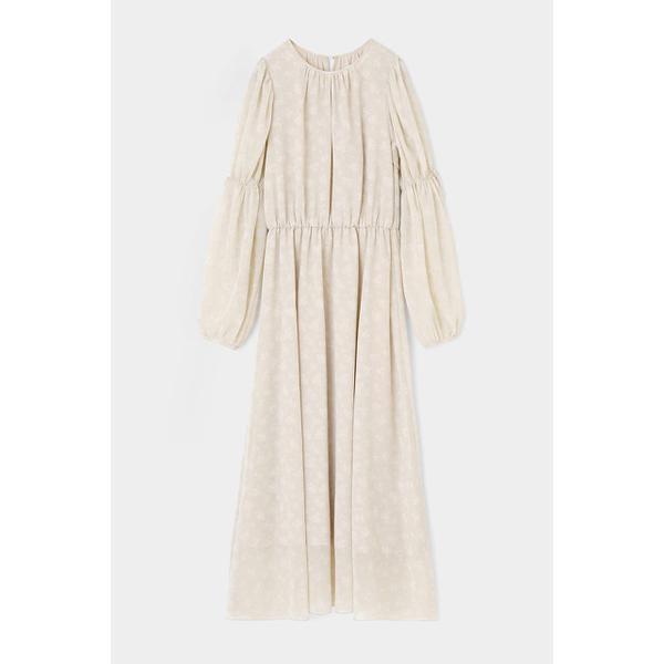 SHEER FLOWER ドレス/マウジー(MOUSSY)