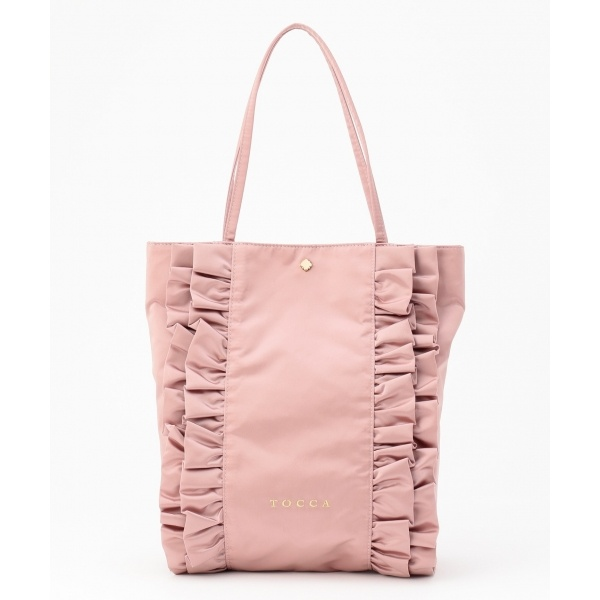 FRILL TOTEBAG トートバッグ/トッカ(TOCCA)