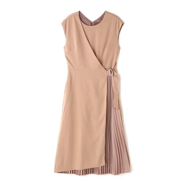 プリーツ切り替えドレス/ローズバッド(ROSE BUD)