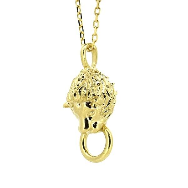 LH プチネックレス ライオンヘッド / K10YG イエローゴールド/ライオンハート(LION HEART)