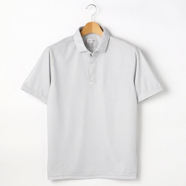 <大きいサイズ>ZIPポロシャツ/ムッシュニコル(セレクト)(MONSIEUR NICOLE SELECT)