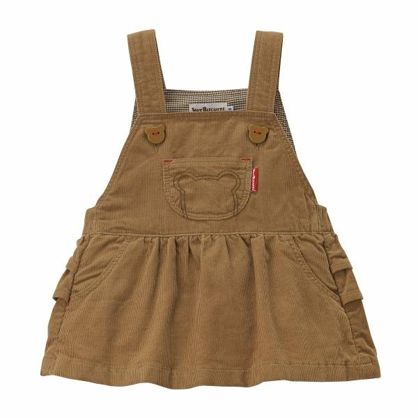 その他ベビー服 高額売筋 アウトレット コーデュロイジャンパースカート 女の子 ミキハウス ホットビスケッツ