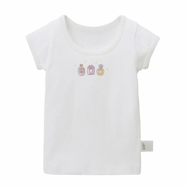 その他トップス フライスインナーTシャツ 本物 超定番 女の子 ホットビスケッツ 半袖 ミキハウス