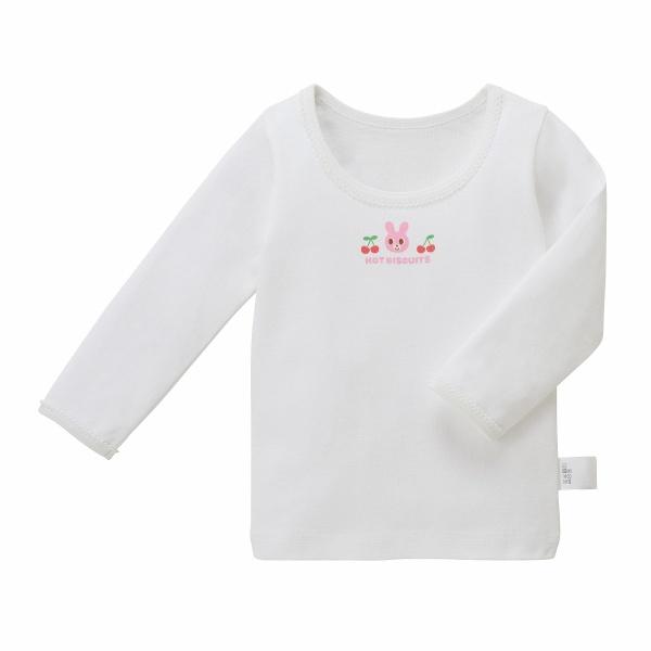 ホットビスケッツ フライスインナー長袖Tシャツ 女の子 セットアップ ミキハウス 激安通販 MIKIHOUSE BISCUITS HOT