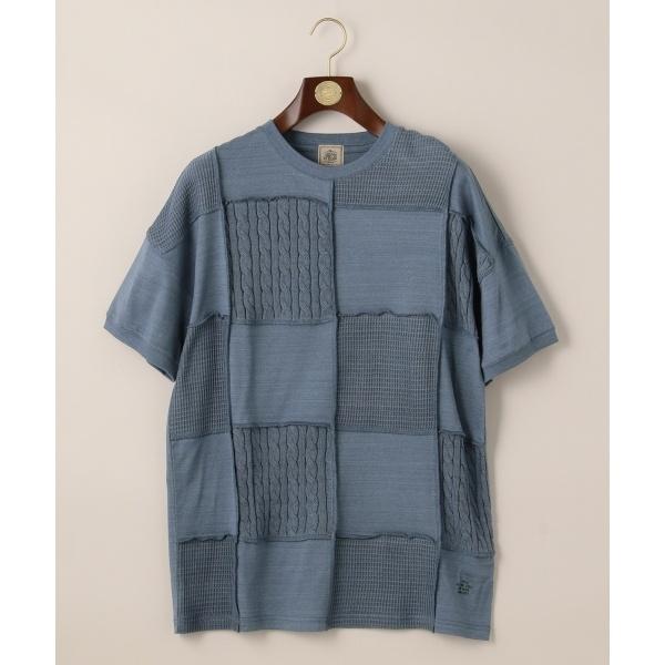 フォギーダイパッチワーク Tシャツ/ジェイ・プレス メン(J.PRESS MEN)
