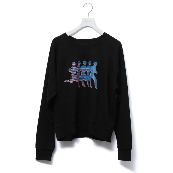 【SPLITS59】プリントスウェットシャツ/ナージー(NERGY)