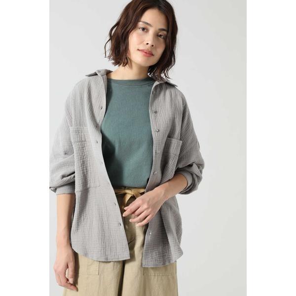 ダブルガーゼサマーシャツ/ローズバッド(ROSE BUD)
