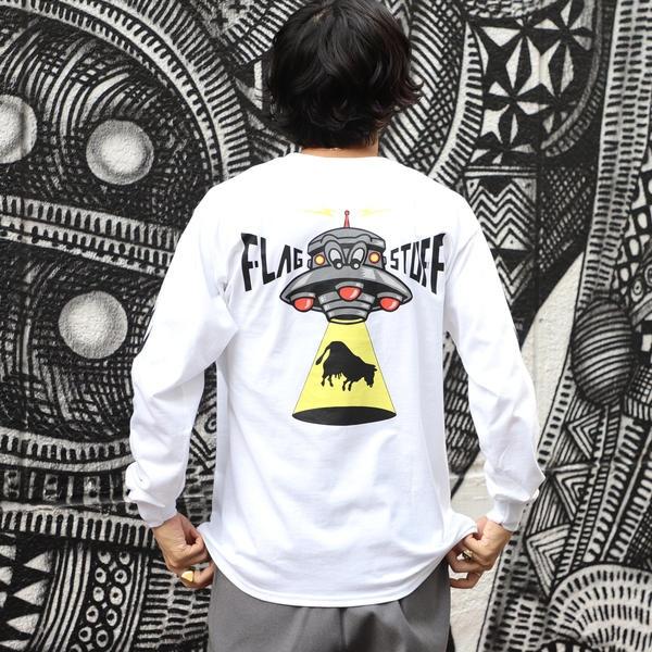 F-LAGSTUF-F / UFO ロングスリーブ Tシャツ/ビームス(BEAMS)