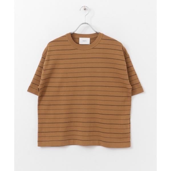 レディスセーター(【5/29新入荷】UNIFY Border Knit T-shirts)/アーバンリサーチ ドアーズ(レディース)(URBAN RESEARCH DOORS)