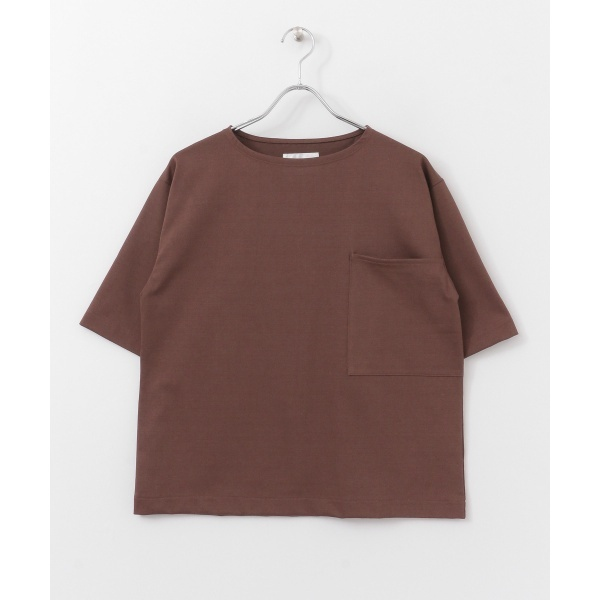 レディスカットソー(【5/29新入荷】UNIFY Wide Pocket T-shirts)/アーバンリサーチ ドアーズ(レディース)(URBAN RESEARCH DOORS)