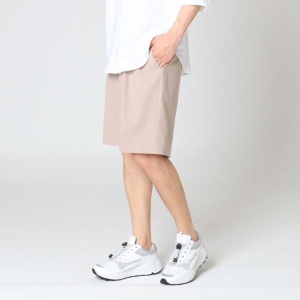 刺し子ツイルストレッチ膝丈パンツ/ティーケー タケオキクチ(tk.TAKEO KIKUCHI)