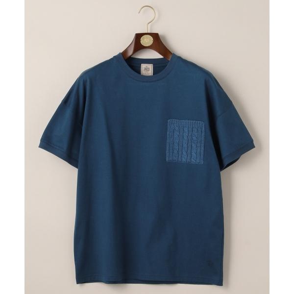 ニットコンビ フォギーダイ ポケット Tシャツ/ジェイ・プレス メン(J.PRESS MEN)