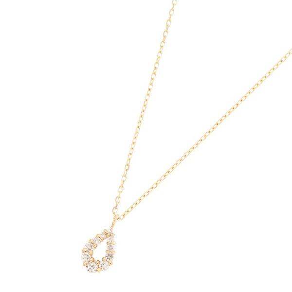 ダイヤモンド グラデペアシェイプ ネックレス/ココシュニック(COCOSHNIK)