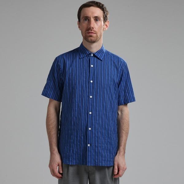 EYE.D WEARingシャーリングストライプショートスリーブシャツ/メンズメルローズ(MEN'S MELROSE)