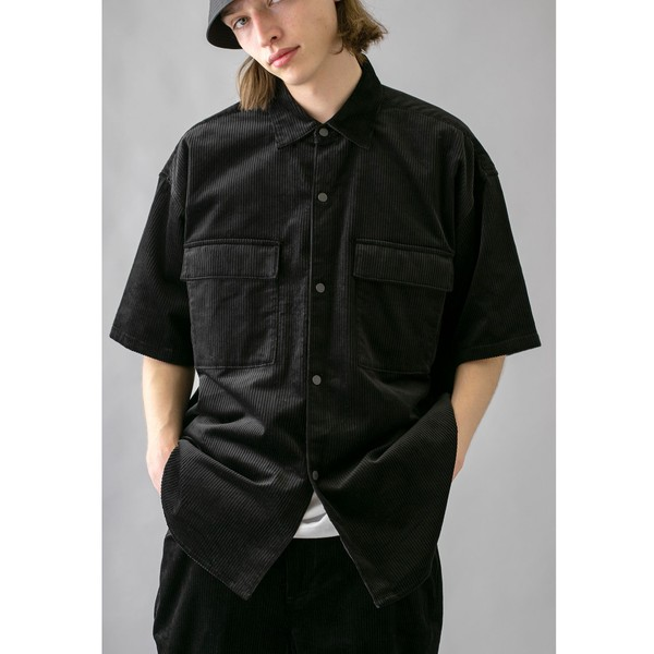 <monkey time> 7W SOFT CORD SNAP SHIRT/シャツ/モンキータイム(monkey time)