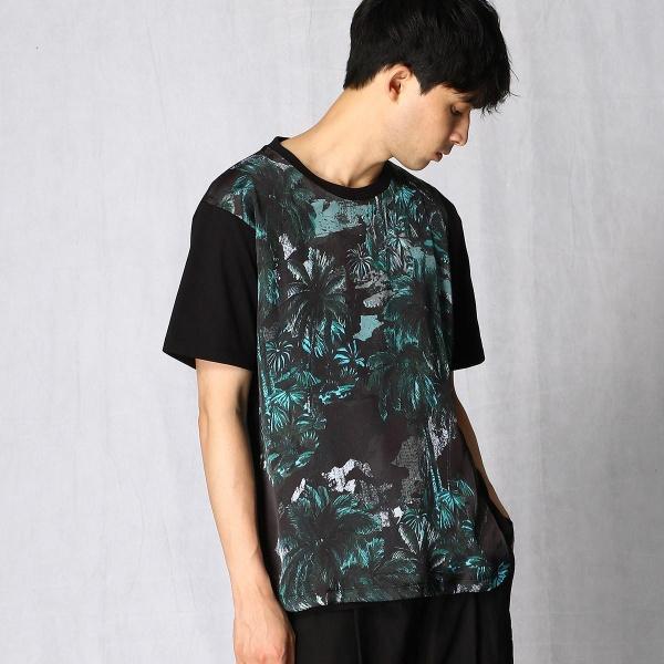 ジャングルプリントTシャツ/βメン(BMEN)