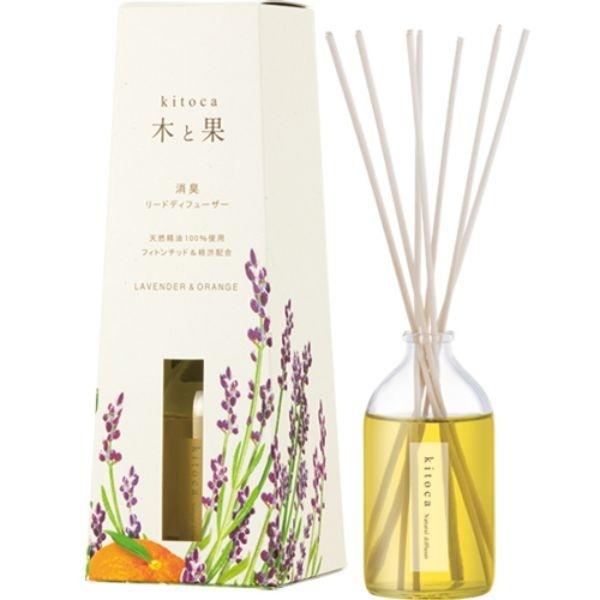 HARUKADO(晴香堂) kitoca(木と果) リードディフューザー 90ml/モアフレグランス(more Fragrance)