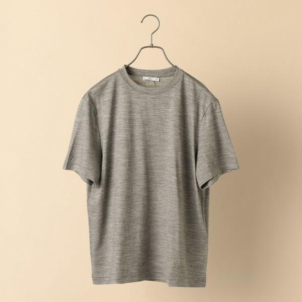 SD: 【手洗い可能】 REDA ACTIVEクールネック ウールTシャツ/シップス(メンズ)(SHIPS)