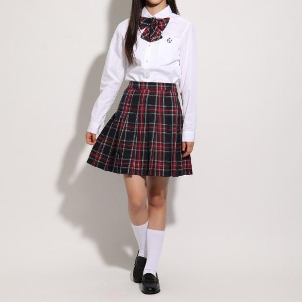 SALE 売却 スカート 超歓迎された 卒服 リボン付 ピンクラテ チェックプリーツスカート