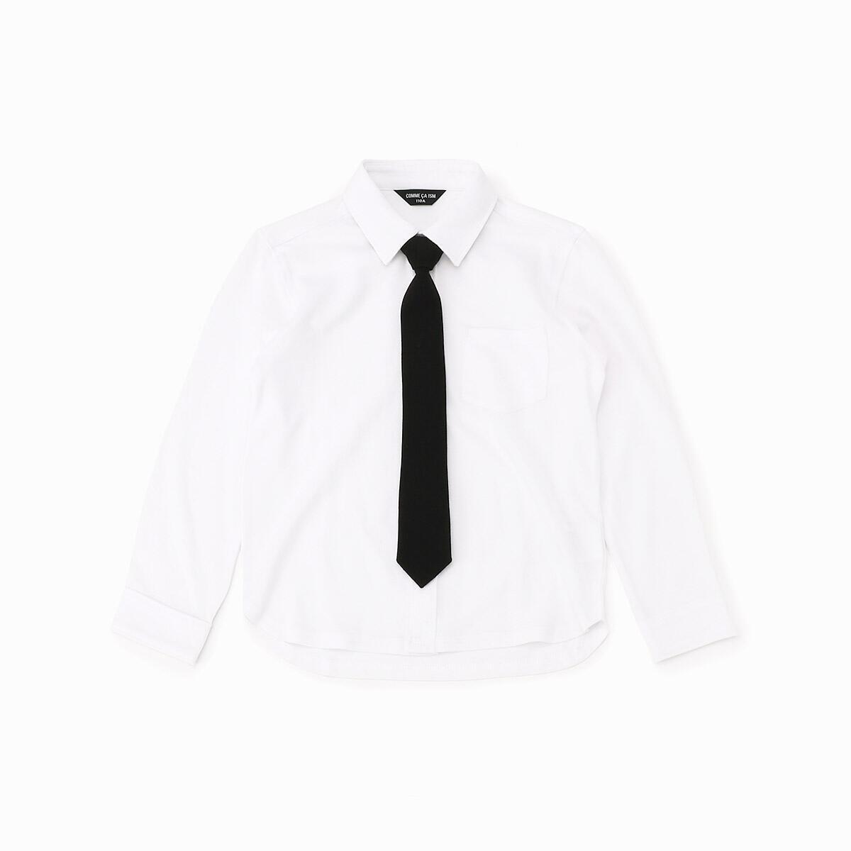 その他トップス おトク ネクタイ付き 長袖シャツ SALE開催中 コムサイズム 100-130サイズ