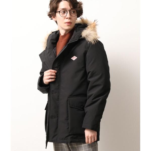 ダウンジャケット 送料無料 新品 ダウンコート 中綿含む DANTON ジュンレッド 卸直営 ダントン ファー付きダウンジャケット