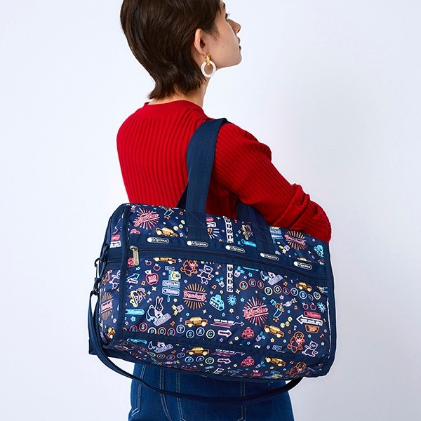 WEEKENDER/ネオンナイツ/レスポートサック(LeSportsac) MED DELUXE