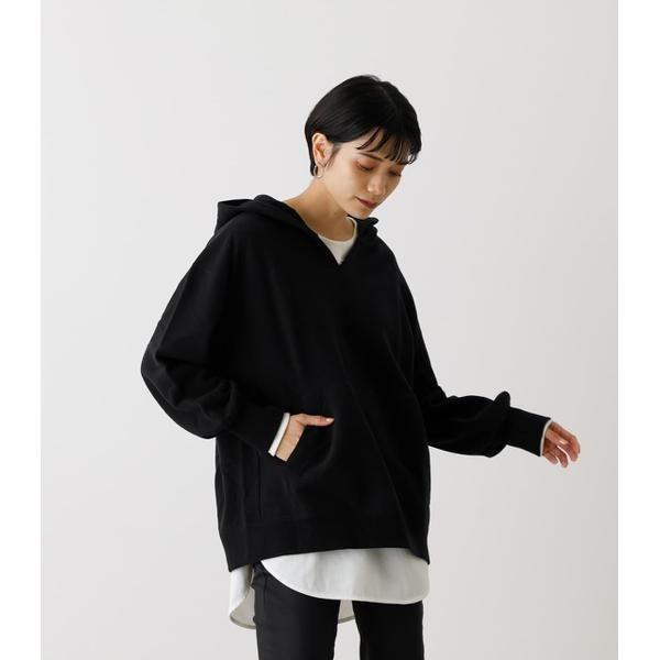 SALE ☆正規品新品未使用品 パーカー SLIT 人気上昇中 アズールバイマウジー HOODIE NECK