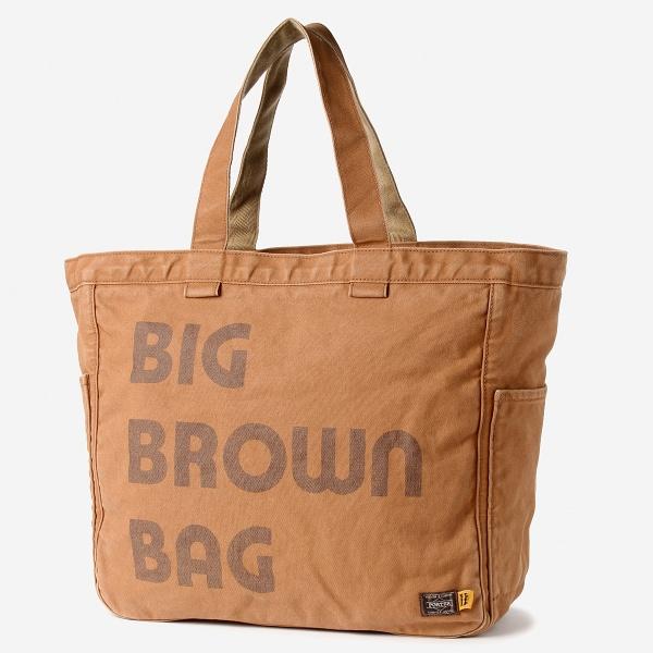 """2-tacs×PORTER 『BROWN by 2-tacs』 """"BIG BROWN BAG""""/B印 YOSHIDA(BEAMS×PORTER)(B JIRUSHI YOSHIDA)"""