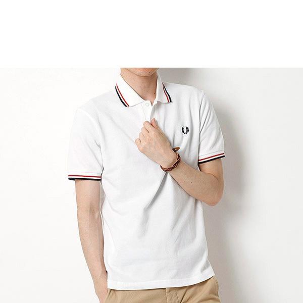 【18SS】『雑誌 MEN'S NON-NO 5月号掲載』ポロシャツ(ティップラインポロシャツ)/フレッドペリー(メンズ)(FRED PERRY)
