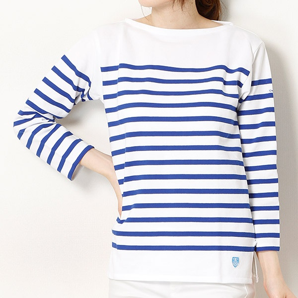 【ORCIVALオーシバル】ラッセル フレンチセーラーTシャツ/ビショップ レディース(Bshop)