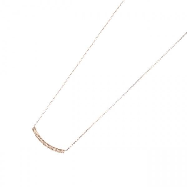 ダイヤモンドミル アーチネックレス(小)/ココシュニック(COCOSHNIK)