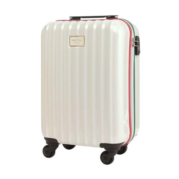 静走ラインキャリーバッグ・スーツケース(S)機内持込可 容量約29L 静音/ベネトン レディース(UNITED COLORS OF BENETTON)