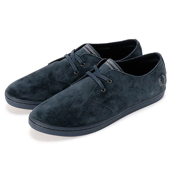 【17AW】BYRON LOW SUEDE/フレッドペリー(メンズ)(FRED PERRY)