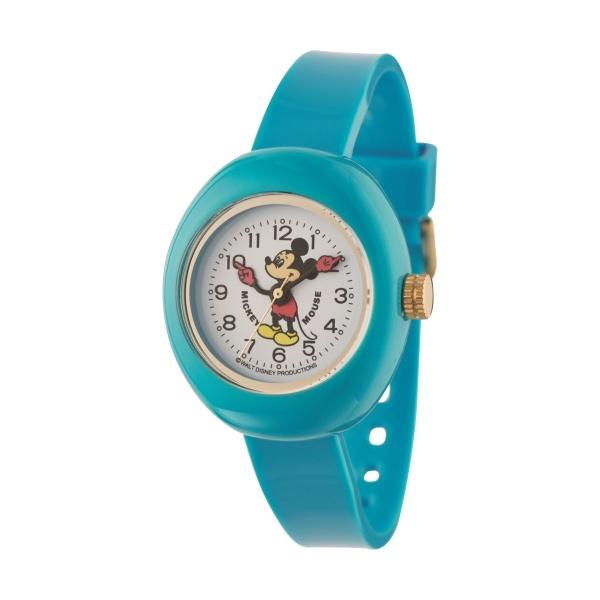 ミッキープラスチックウォッチブルー(クオーツ【型番:MPW-BLU】)/ディズニー(Disney)