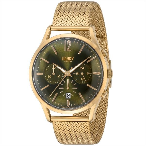メンズ時計(【型番:HL41-CM-0108】電池式(クオーツ式)/ヘンリーロンドン(HENRY LONDON)