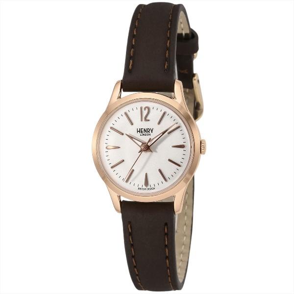 レディース時計(【型番:HL25-S-0184】電池式(クオーツ式)/ヘンリーロンドン(HENRY LONDON)
