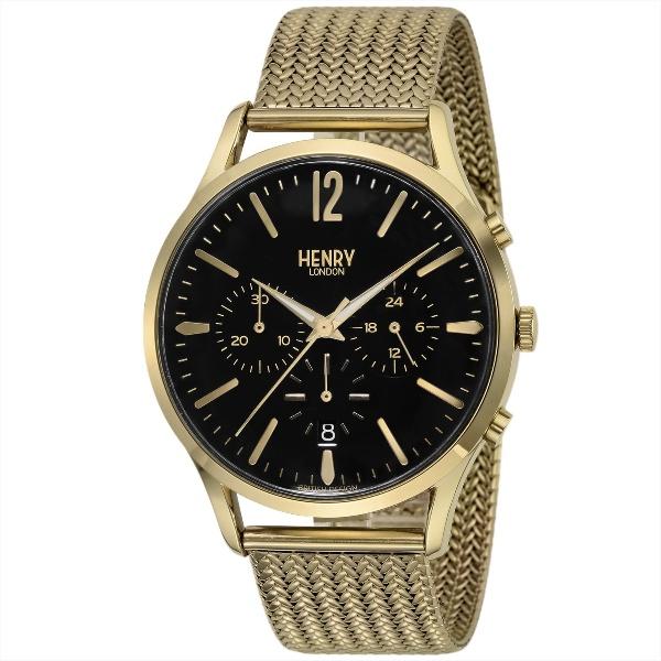メンズ時計(【型番:HL41-CM-0180】電池式(クオーツ式)/ヘンリーロンドン(HENRY LONDON)